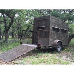 5x9, Atascosa/Bushlan Wheelchair Trailer Blind w/luxury package