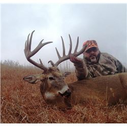 5-day Kansas Midwestern White-tailed Deer Hunt for One Hunter