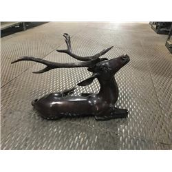 Bronze Sculpture of a Reclining Deer