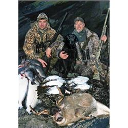 3-day/4-night Alaska Sitka Black-tailed Deer and Duck Hunt for One Hunter