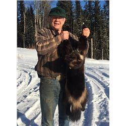 5-day British Columbia Trapline Adventure for One Hunter