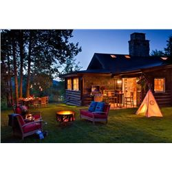 7 DAY STAY FOR SIX AT 'THE CABIN' IN JACKSON, WY