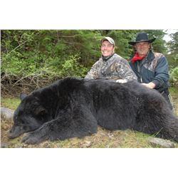 5-day Vancouver Island Black Bear Hunt for One Hunter-Guided by Jim Shockey