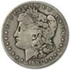 1883-S Morgan Dollar XF