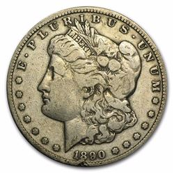 1890-CC Morgan Dollar Fine