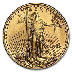 2009 1/10 oz Pure Gold American Eagle BU