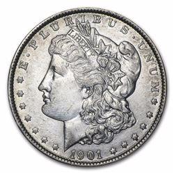 1901 Morgan Dollar AU