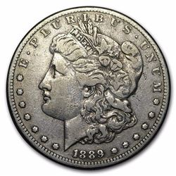 1889 CC VF 30 RARE DATE!