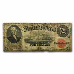 1917 $2.00 Legal Tender Jefferson Note