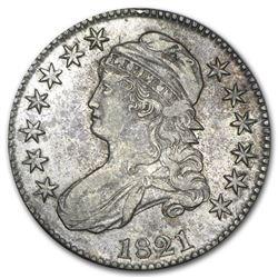 1821 Capped Bust Half Dollar AU-55