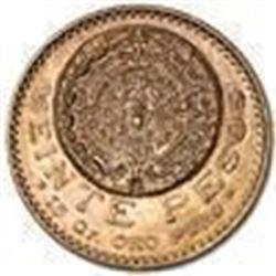 1921/11 Rare Overdate Mexico Gold 20 Pesos BU