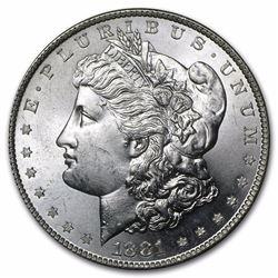 1881-S Morgan Dollar BU MS-63