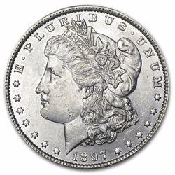 1897 Morgan Dollar BU MS-63