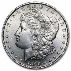 1890-S Morgan Dollar BU RARE