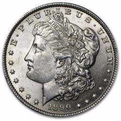 1890 Morgan Dollar BU MS-53