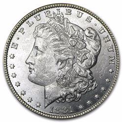 1881 Morgan Dollar BU MS-63