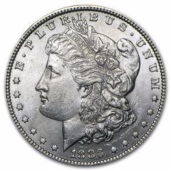 1883 Morgan Dollar BU MS-63