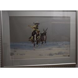 KIOWA PAINTING (WILLIAMS)