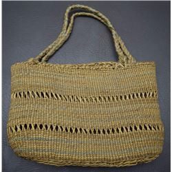 MAKAH STYLE BASKETRY PURSE