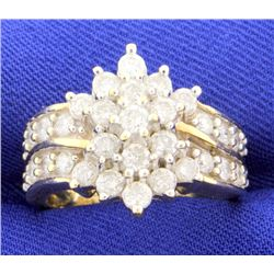 1 1/2 carat diamond ring