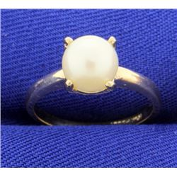 Cultured 8mm Pearl Ring