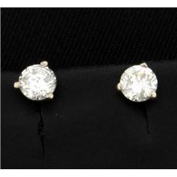 .4ct Total Weight Diamond Stud Earrings