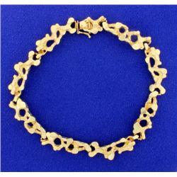 Nugget Style Bracelet