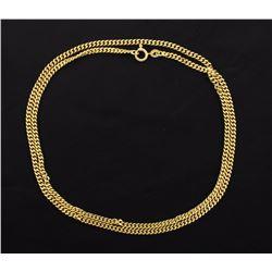 24 Inch 18K Yellow gold Cuban Link chain