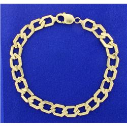 14K Heavy Curb Link Chain
