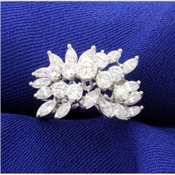 18K 2ct Total Weight Diamond Ring