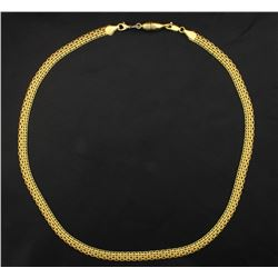 19 1/4 Inch Italian Made Necklace