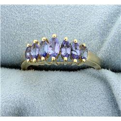 1ct TW Tanzanite Ring