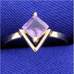 3/4 ct Amethyst Ring