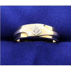 Men's Diamond Band Ring