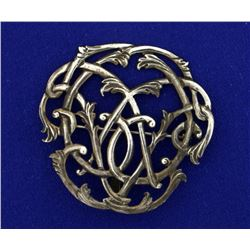 Vintage Sterling Silver Pin/Pendant