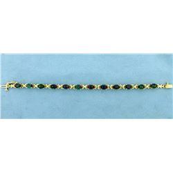 12ct TW Mystic Topaz Bracelet