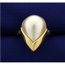 Large Pearl Ring