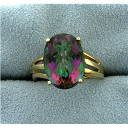 6 ct Mystic Topaz Ring