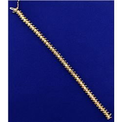 4ct TW Diamond Tennis Bracelet