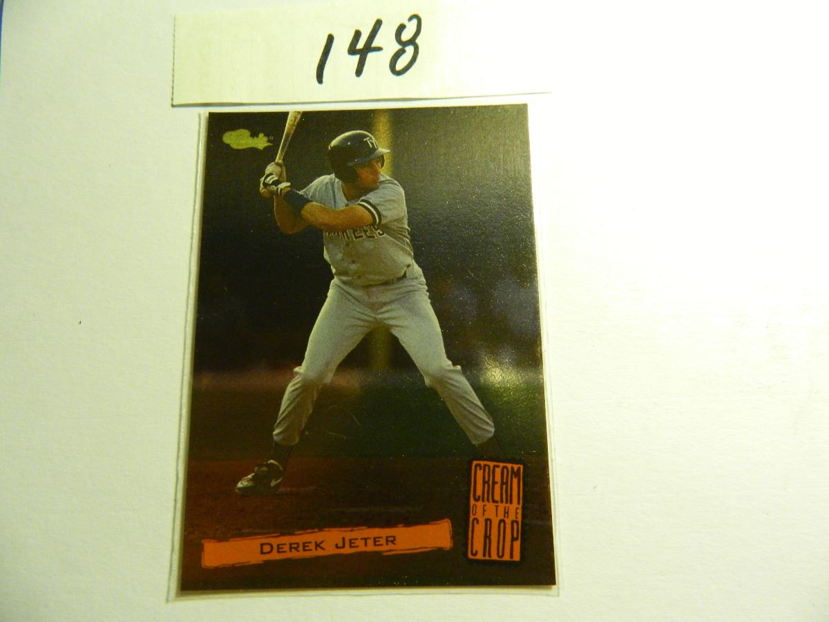 1994 Classic Derek Jeter Cream Of The Crop Rookie Card C17