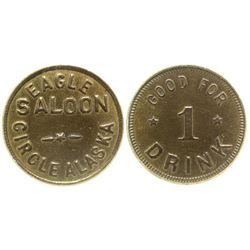 Eagle Saloon Token Circle Alaska