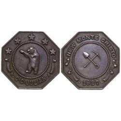C.C Julian Silver Medal Wickenburg Arizona