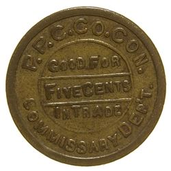 Pacific Portland Cement Company Token Cement California