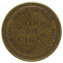 Fashion Saloon Token Eureka California