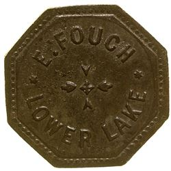 E. Fouch, Lower Lake Token Lower Lake California