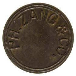 P. H. Zang & Co. Token Denver Colorado