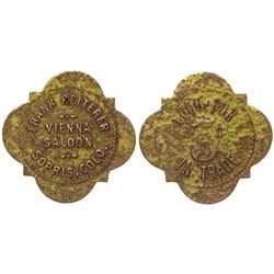 Vienna Saloon Token Sopris Colorado