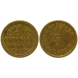 Power City Pharmacy Token American Falls Idaho