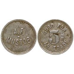 A.F. Mustoe Token Melrose Idaho