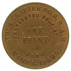 Masonic Penny Nampa Idaho
